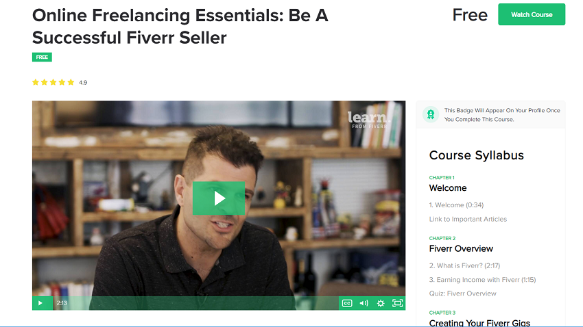 Fiverr Learn Courses